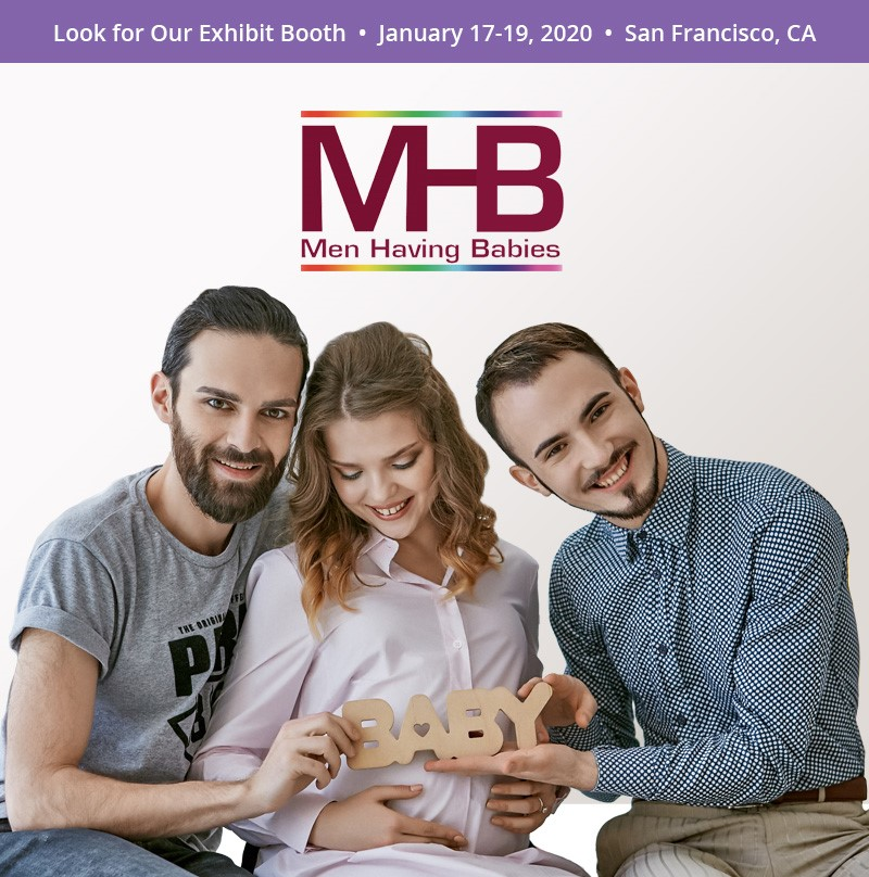 Men Having Babies Exhibit Booth